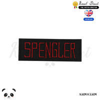 SPENGLER Ghost Buster Super Hero Movie Embroidered Iron On Sew On PatchBadge