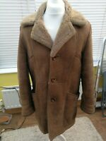 Vintage Men's Sheepskin Coat - Classic 80s Del Boy styled by David Stephen