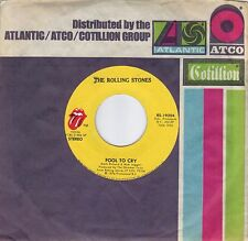 THE ROLLING STONES  Fool To Cry / Hot Stuff  rare 45 from 1976