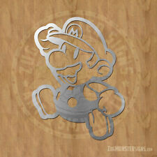 Super Mario Metal Wall Art Sign