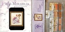Mirabilia Cross Stitch Chart with Embellishment Pack ~ ROSES OF PROVENCE #124