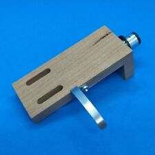 Phono Headshell Cherry Wood with silver leads and insulation plate  Taiwan