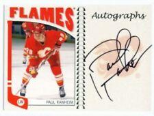 "PAUL RANHEIM ""AUTOGRAPH CARD"" ITG FRANCHISES CANADIAN!!!"