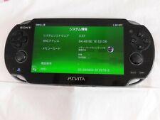 Z3563 Sony PS Vita 1100 console Crystal Black 3G/Wi-Fi model PCH-1100