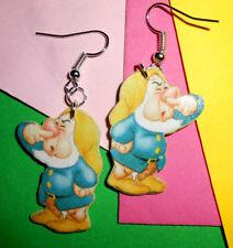 Bijoux  Orecchini earrings Eolo  Disney 7 nani creazioni in fimo idea regalo