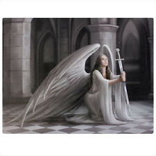 Anne Stokes Canvas Plaque Wall Hanging - Spirit Angel Water Dragon Fairy Unicorn The Blessing