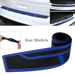 """35"""" Car Trunk Rear Bumper Edge Sill Cover Scuff Plate Guard Scratch Resistant"""