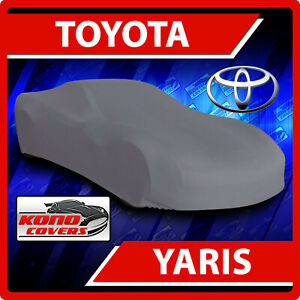 [Fits Toyota YARIS] CAR COVER - Ultimate Full Custom-Fit All Weather Protection