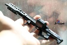 "1/6th Weapon Model 4D Avatar MG62 Assemble Black Machine Gun F/12"" Action Figure"