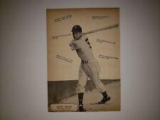 Mickey Vernon & Enos Slaughter 1947 MLB Baseball Supplement Insert