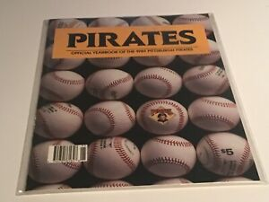 Pittsburgh Pirates Official Yearbook 1989