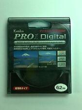 Kenko 62mm Pro1 Digital WIDEBAND CIR Circular Polarizer CPL C-PL (W) Filter