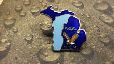 Michigan Fraternal Order of Eagles FOE pin badge