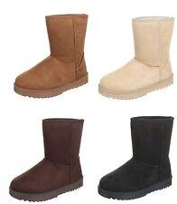 Markenlose Damenstiefel & -Stiefeletten im Boots-Stil für Kleiner Absatz (Kleiner als 3 cm)
