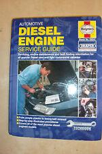 AUTOMOTIVE DIESEL ENGINES HAYNES SERVICE MANUAL MERCEDES FORD FIAT LANDROVER >97