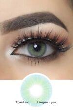 Coloured Contacts Fresh Go Hidrocor TOPAZ Eyewear Makeup Tool UK + Free Case