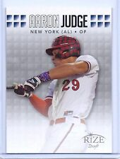 AARON JUDGE 2013 LEAF RIZE DRAFT ROOKIE CARD #36 W/H TOP LOADER! NY YANKEES!