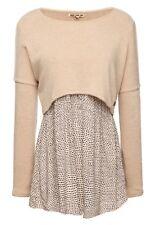 Khujo Damen Pullover Annabelle beige Fashionista Trend Look -60