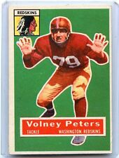 "1956 TOPPS FOOTBALL #73 VOLNEY PETERS ""SP"", WASHINGTON REDSKINS, USC, 081117"