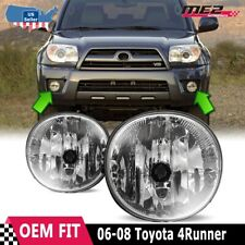 For Toyota 4Runner 06-08 Factory Bumper Replacement Fit Fog Lights  Clear Lens