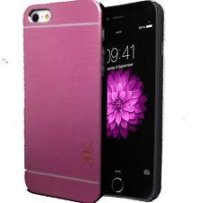 """New Generic Brush Aluminium Metal Case Cover For Apple iPhone 6 4.7"""" & 6 Plus"""