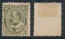 CANADA, 1903 20c deep olive-green, cat £38