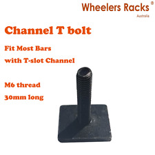 Channel T-bolt for Treasurall Thule Rhino Whispbar Roof Racks Cross Bars 30mm