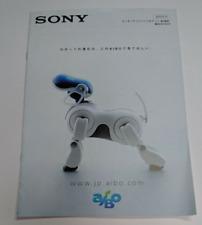 Very Rare Sony Aibo ERS-7 catalog 2003 JAPAN Free shipping