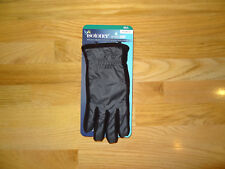 New Womens Isotoner Winter Gloves Smartouch Driving Touch Screen Grey Black M/L