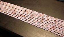 edelsteine24   Sehr schöner Pink Opal Strang fac. 4,5mm / 40cm!Opal-b10