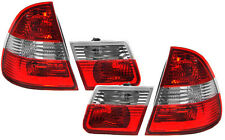 CLEAR REAR TAIL LIGHTS BMW E46 1998-2005 STATION WAGON ESTATE TOURING MODEL V3