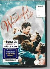 It's A Wonderful Life DVD! Brand New! Frank Capra's! Christmas! Family! Kids!