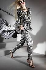 Lanvin Paris Resort 2012 Diamond Gem Print Silk Sleeveless Top Alber Elbaz 40