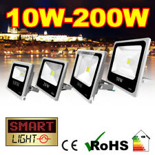SmartLight WHITE Garden/Security SMD PIR LED Slim/Flat Floodlight Flood Light