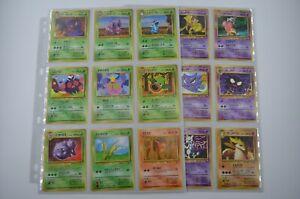 Near Complete Japanese Vending Series 3 - 36 Pokemon Cards Mewtwo Scyther