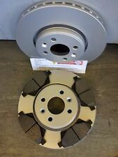 MK2 MEGANE  FRONT BRAKE DISCS AND PADS 1.5,1.6,1.9 (2003-2005) NEW COATED DESIGN