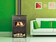 A LEGNA STUFA CAMINO GHISA TOP 9 KW Multi fuiel LOG Burner PRITY KCP