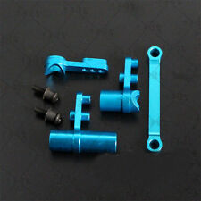 Hot Sell Blue Aluminum Steering Servo Saver Complete For 1:10 RC HSP 122057