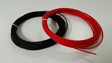 BLACK AND RED 12 GAUGE TXL AUTOMOTIVE HIGH TEMP - 25 FEET EACH COLOR