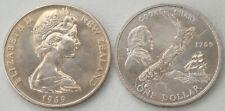 Neuseeland / New Zealand 1 Dollar 1969 p40 unz.