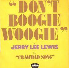 "JERRY LEE LEWIS – Don't Boogie Woogie (1975 VINYL SINGLE 7"" FRANCE)"