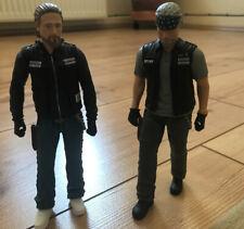 Jax Teller & Clay Morrow Sons of Anarchy SAMCRO Action Figur, Mezco, 15cm (2x)