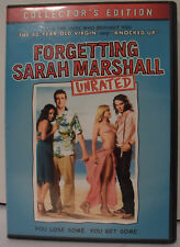 Forgetting Sarah Marshall (DVD, 2008, 3-Disc Set, Unrated Collectors Edition)