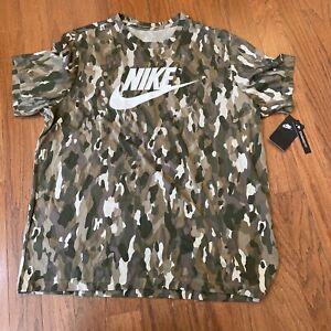 Nike Sportswear NSW Mens Woodland Tee Shirt Size XXL MSRP $25