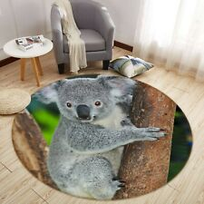 3D Australia Koala O1682 Animal Non Slip Rug Mat Elegant Photo Carpet Fay