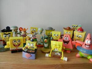 17 Spongebob Squarepants McDonalds Burger King Lot Plankton SandyCheeks Gary