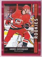 ANDREI SVECHNIKOV RC 2018-19 O-PEE-CHEE OPC GLOSSY ROOKIES #R-8