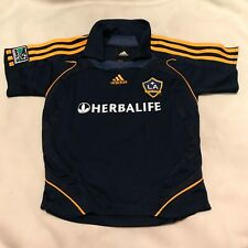 LA Los Angeles Galaxy Herbalife Adidas Soccer Jersey Youth/Kids size 7