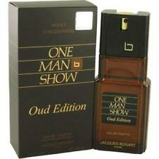 JACQUES BOGART ONE MAN SHOW OUD EDITION  EDT FOR MEN 100ML/3.3 oz FREE SHIPPING.