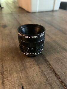 Vintage Tamron TV Zoom Lens 1:1.8 F=16mm Lens 300372 (sony)